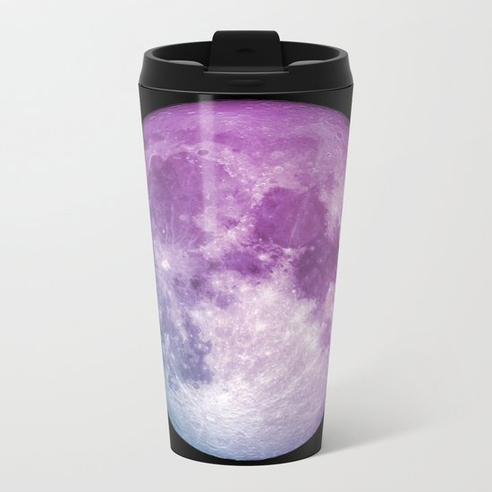 New Moon Metal Travel Mug