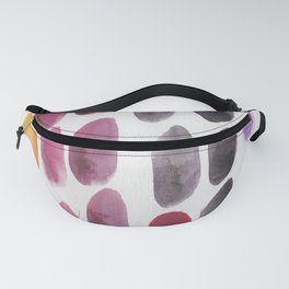 50| 190330 Watercolour Abstract Brush Strokes Fanny Pack