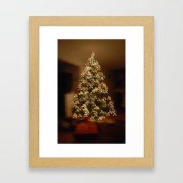 """Christmas Tree - """"M"""" for Mom Framed Art Print"""