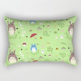 Ghibli pattern Rectangular Pillow