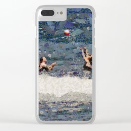 Ocean Volleyball PhotoArt Clear iPhone Case