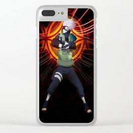 kakashi hatake Clear iPhone Case