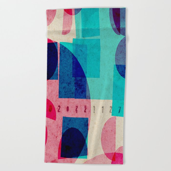 ticket of admission Beach Towel