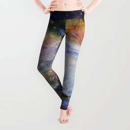 Rainbow Orion NEBulA Leggings