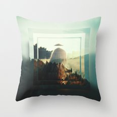 Fractions 12 Throw Pillow