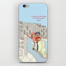 I {❤} Vespa iPhone & iPod Skin