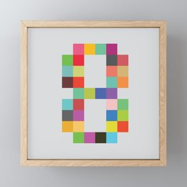 Eight Bit Framed Mini Art Print