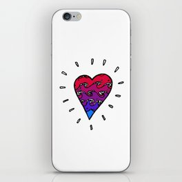my heart's an autoclave iPhone Skin