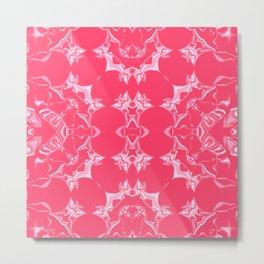 Infra Red Kaleidoscope Pattern #1 Metal Print