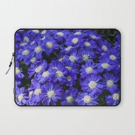 Cineraria Blue Laptop Sleeve