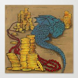Tiny Dragon Canvas Print