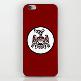 Northwest Pacific coast Kaigani Thunderbird iPhone Skin