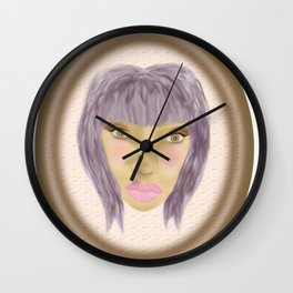 pretend it's a cameo Wall Clock