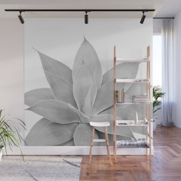 Gray Agave #1 #tropical #decor #art #society6 Wall Mural