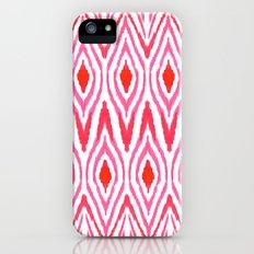 Ikat Watermelon Slim Case iPhone (5, 5s)
