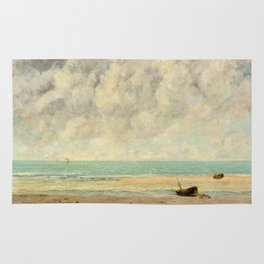 The Calm Sea - Gustave Courbet Rug