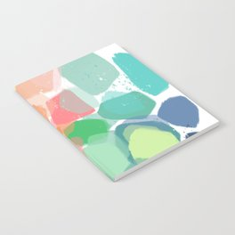 Abstract Color Therpy Notebook