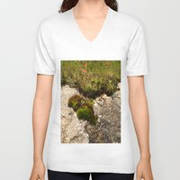 oasis V-neck T-shirts featuring A Hill Country Oasis... by TexasArt