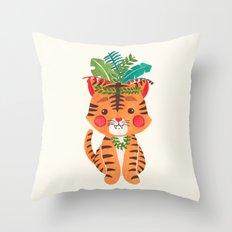 Thomas the Tiger Throw Pillow