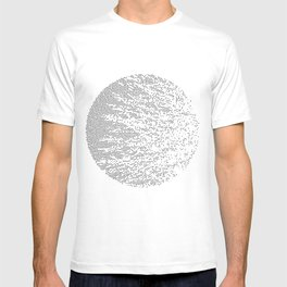 Planet Surface Circle T-shirt