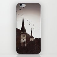 gothic iPhone & iPod Skins featuring Gothic  by Teo Dima