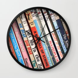 Beginner Books Wall Clock