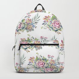succulent pattern 1 Backpack