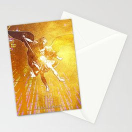 Archangel Michael in Gold Stationery Cards