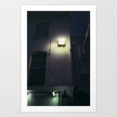 pretty lights Art Print