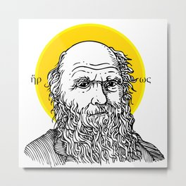 St. Darwin Metal Print