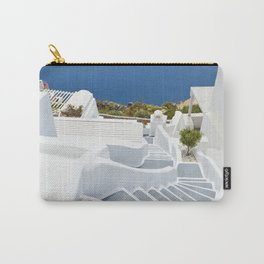 The Perfect Santorini Life Carry-All Pouch