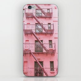 Pink Soho NYC iPhone Skin
