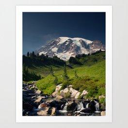 A Place Called Paradise, Mount Rainier Art Print