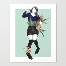 The Great Gaxi Canvas Print