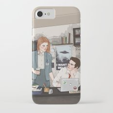 Teen Wolf X-Files AU (Stiles Stilinski & Lydia Martin) iPhone 7 Slim Case
