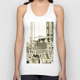 Travelling Chairs Unisex Tank Top