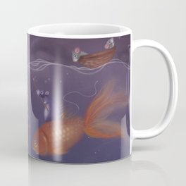 Over Under Water Coffee Mug