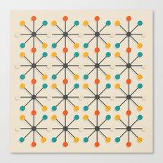 Midcentury Pattern 02 Canvas Print