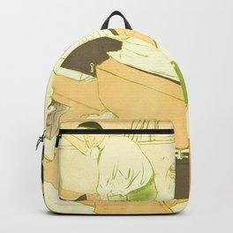 """Henri de Toulouse-Lautrec """"Couverture de l'estampe originale"""" Backpack"""