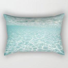 Under Water Light Rectangular Pillow
