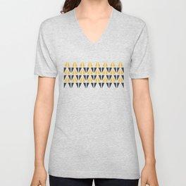 Sunny Triangles Unisex V-Neck