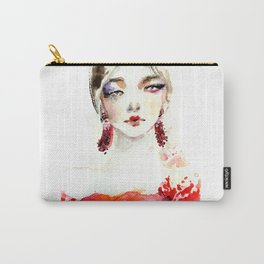 Fashion illustration Marchesa Carry-All Pouch