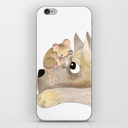 Gustav The Mouse (2/3) iPhone Skin
