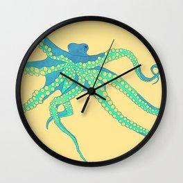 Bodacious Octopus Wall Clock