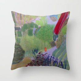 Jardin Throw Pillow