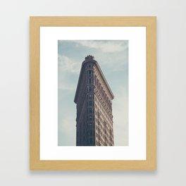 Flat Flat Iron - NYC Framed Art Print