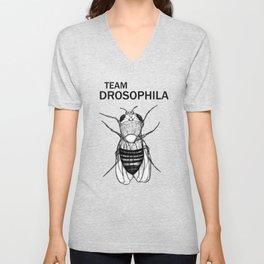 Team Drosophila Unisex V-Neck
