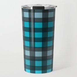 Checkmate Blue Travel Mug