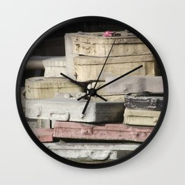 Not Coming Home Wall Clock