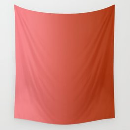Pastel Red to Red Vertical Linear Gradient Wall Tapestry